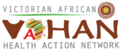 Victorian African Health Action Network Sticky Logo